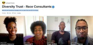team diversity race consultants training